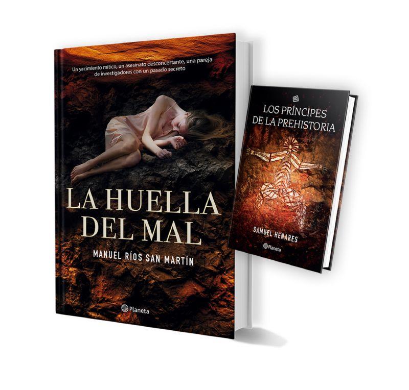 (pack Tc) La Huella Del Mal + Los Principes De La Prehistoria - Manuel Rios San Martin
