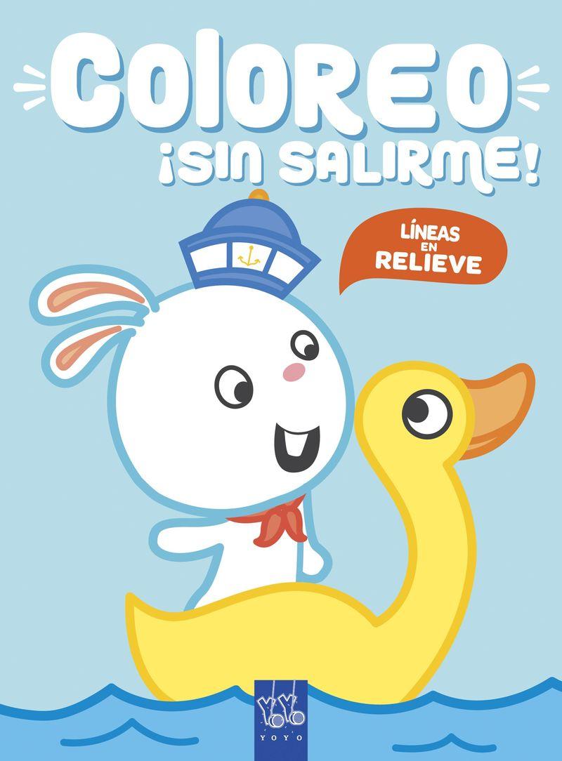 CONEJO - COLOREO ¡SIN SALIRME!