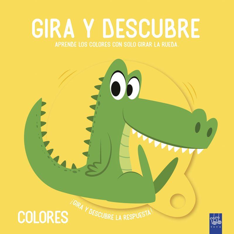 GIRA Y DESCUBRE - COLORES
