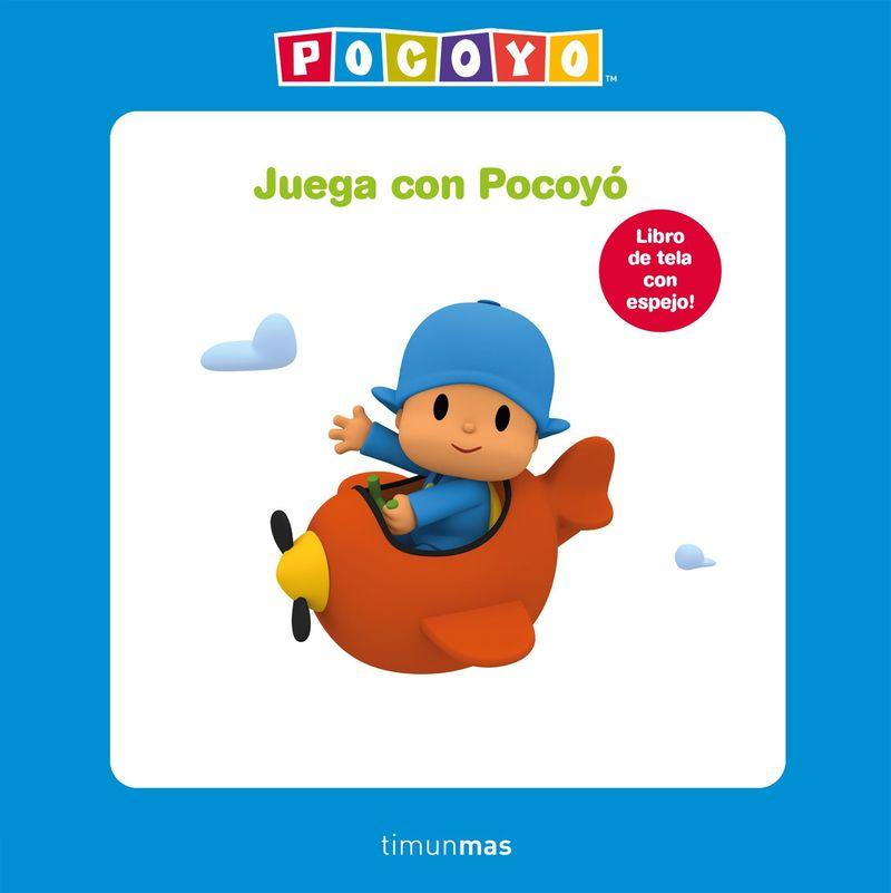 JUEGA CON POCOYO (LIBRO DE TELA)