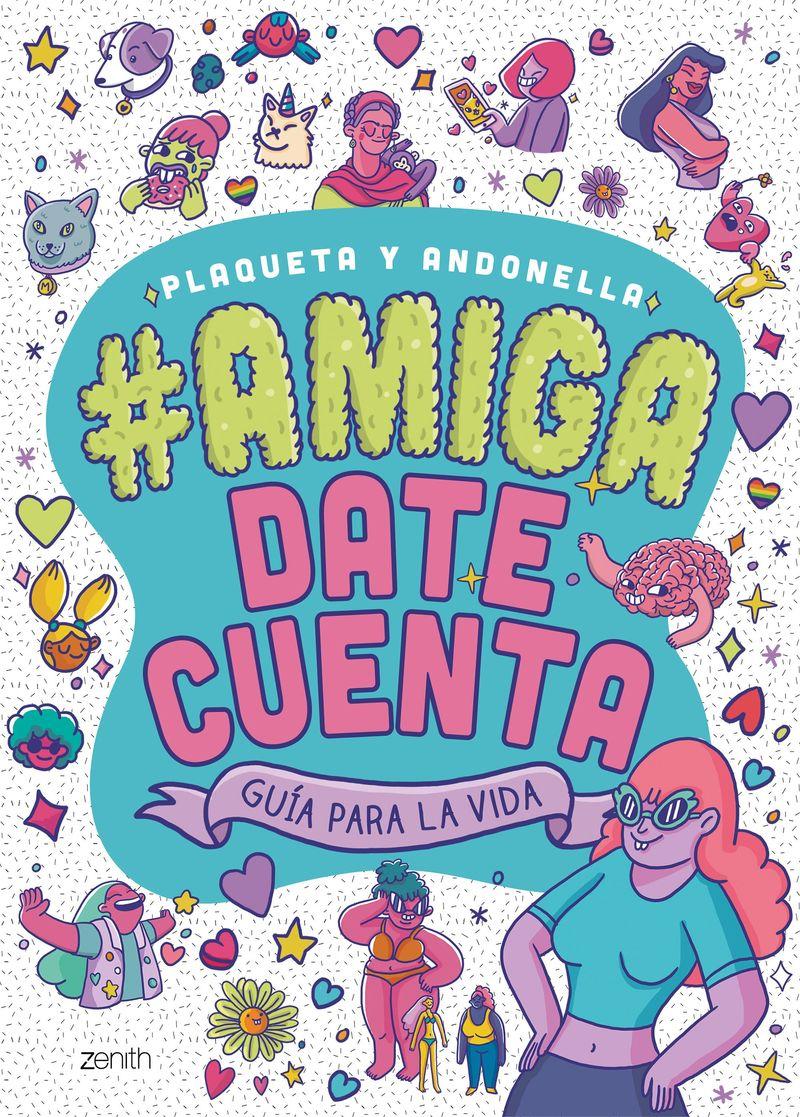 Amiga, Date Cuenta - Plaqueta Y Andonella