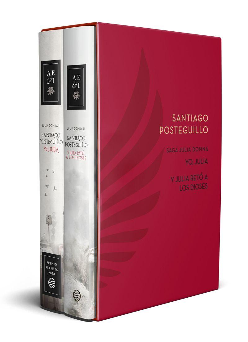 (estuche) Saga Julia Domna (yo, Julia + Y Julia Reto A Los Dioses) - Santiago Posteguillo
