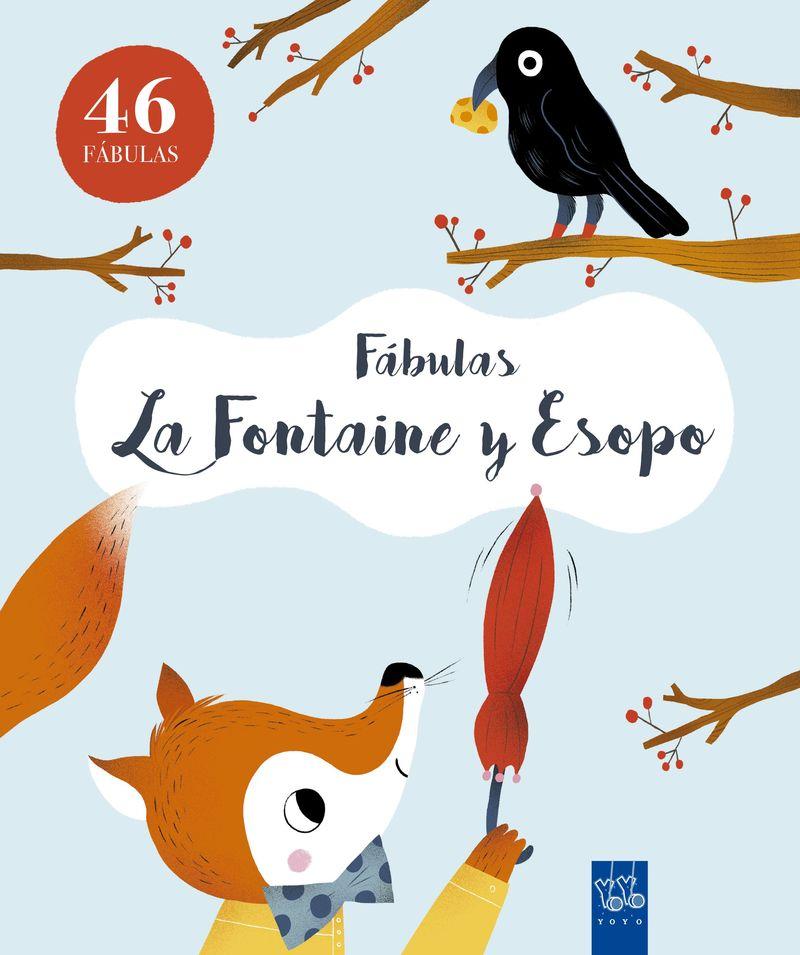 FABULAS - LAFONTAINE Y ESOPO