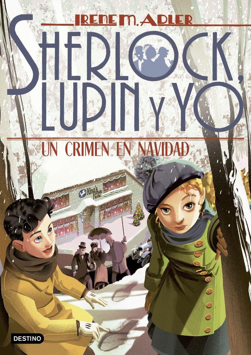 SHERLOCK, LUPIN Y YO 17 - UN CRIMEN EN NAVIDAD