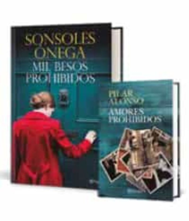 (pack) Mil Besos Prohibidos + Amores Prohibidos - Sonsoles Onega