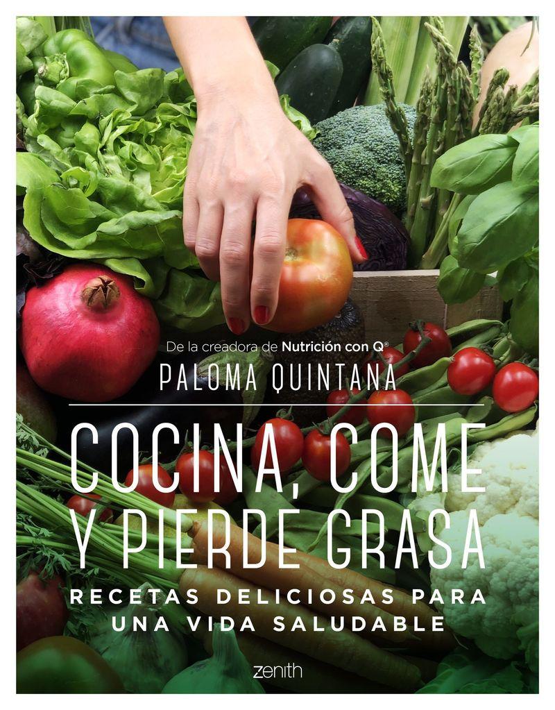 cocina, come y pierde grasa - Paloma Quintana
