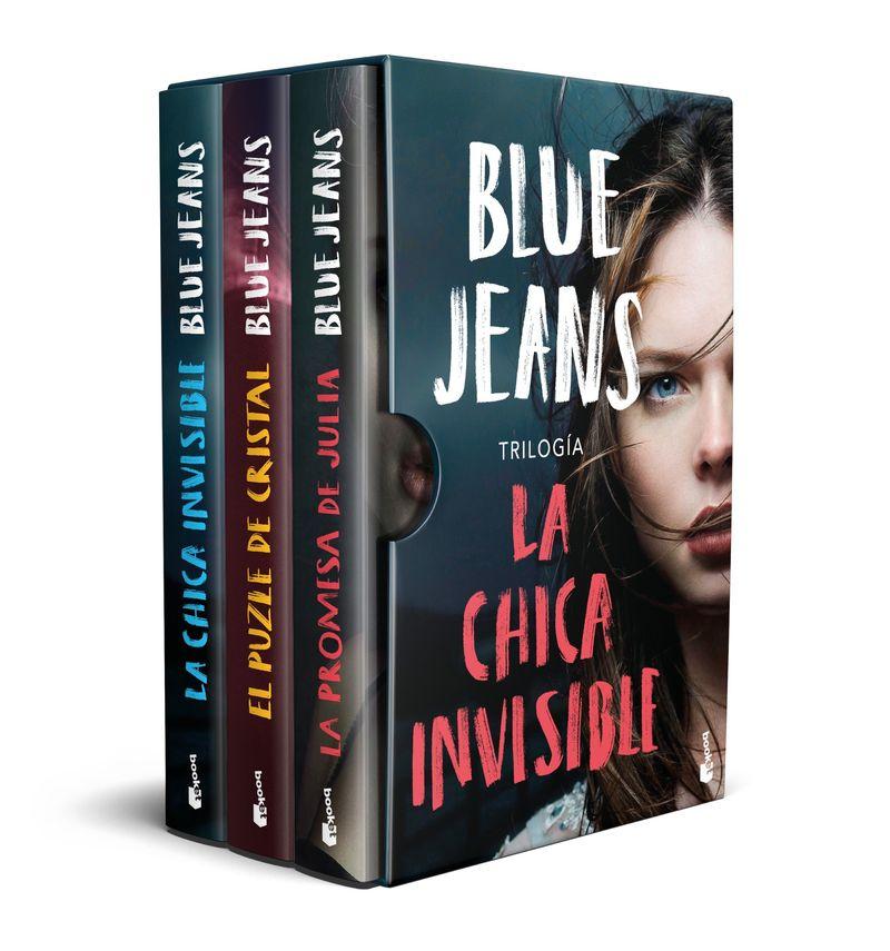 La (estuche) chica invisible - Blue Jeans