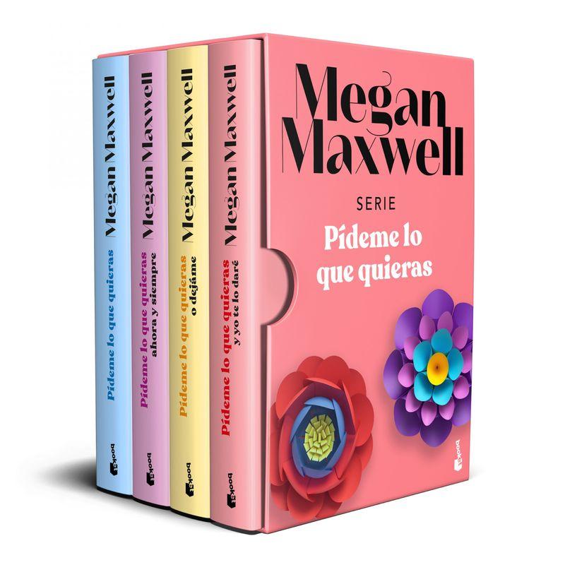 (estuche) pideme lo que quieras - Megan Maxwell