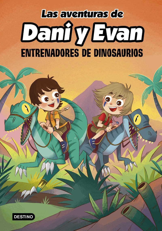 aventuras de dani y evan, las 3 - entrenadores de dinosaurios - Dani / Evan
