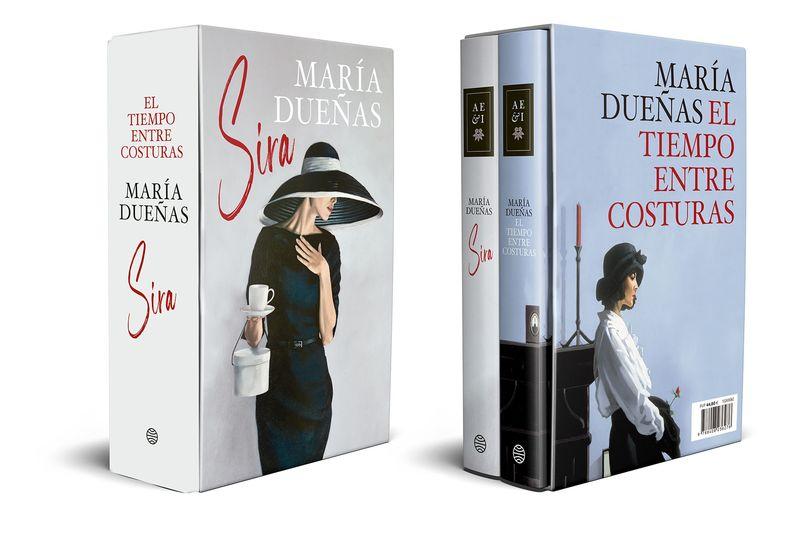 (estuche) el tiempo entre costuras + sira - Maria Dueñas