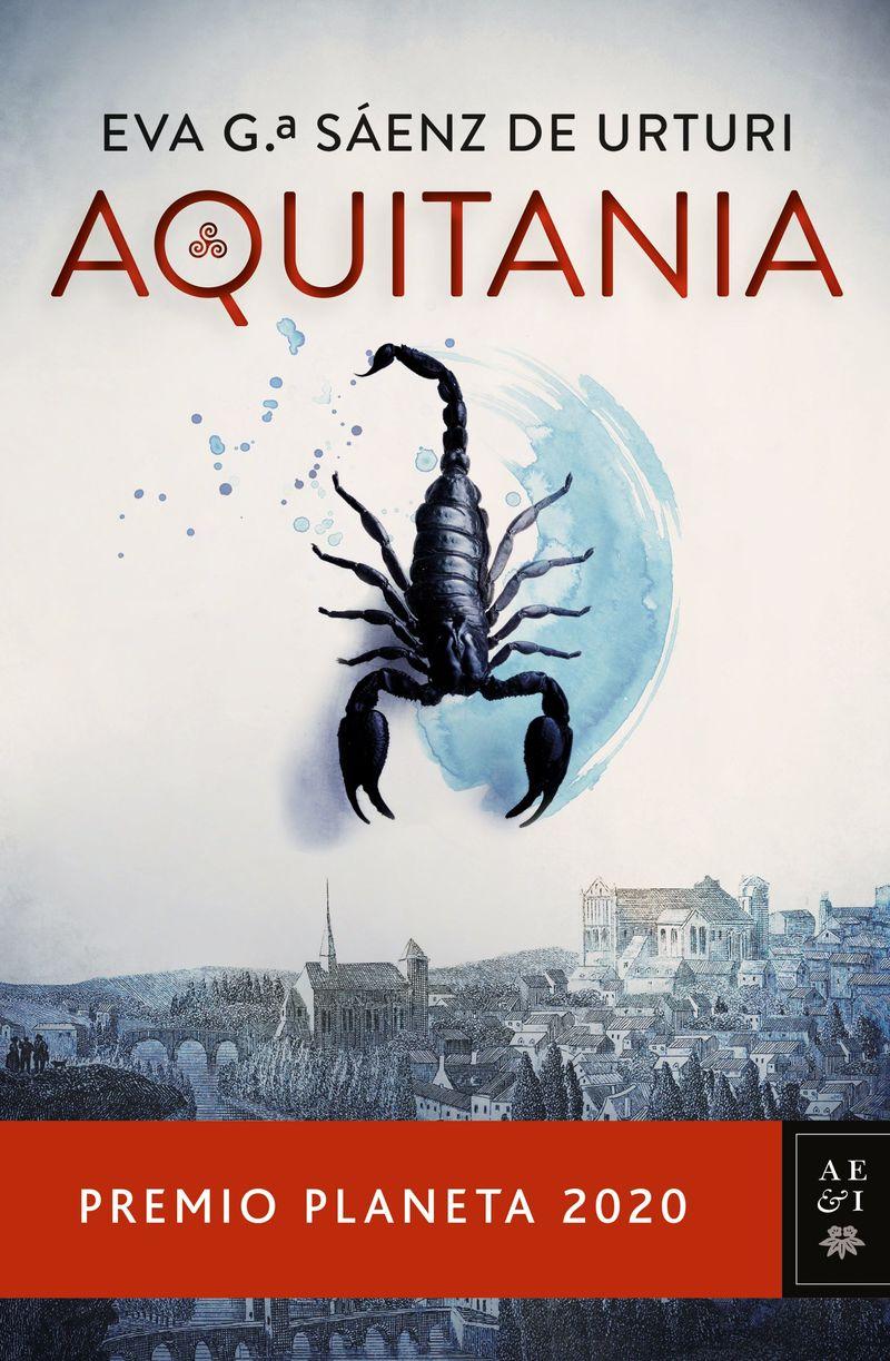 (pack) aquitania (premio planeta 2020) (+libreta) - Eva Garcia Saenz De Urturi