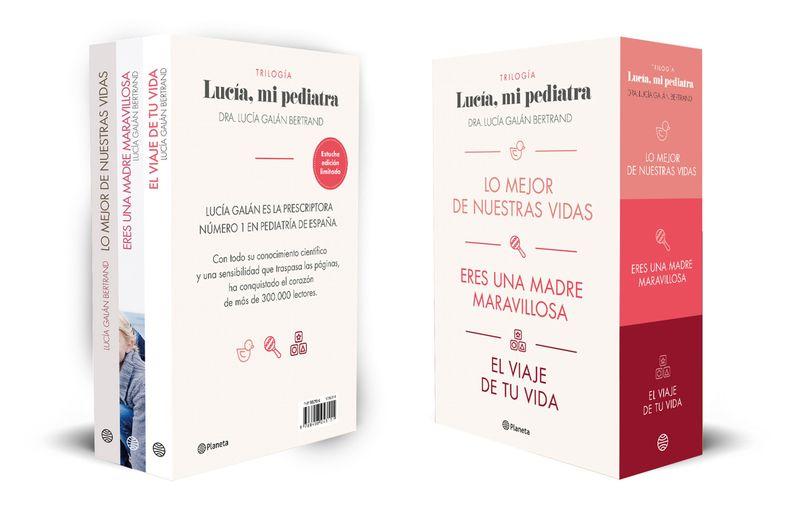 (ESTUCHE) TRILOGIA DE LUCIA, MI PEDIATRA - LO MEJOR DE NUESTRAS VIDAS, ERES UNA MADRE MARAVILLOSA Y EL VIAJE DE TU VIDA