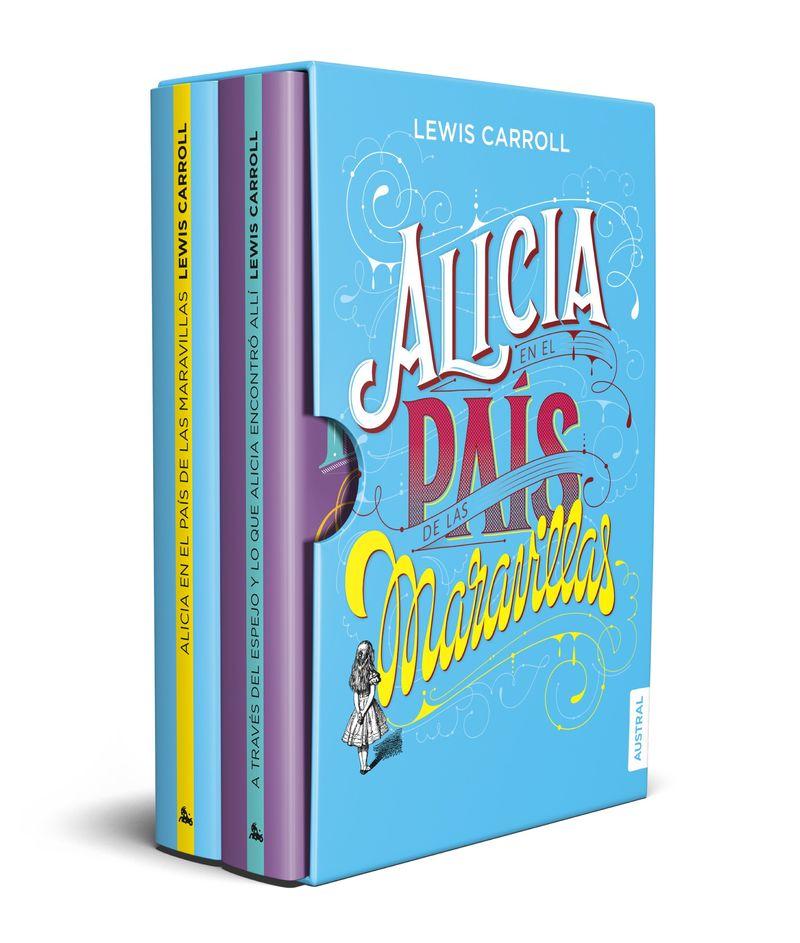 (ESTUCHE) ALICIA - EN EL PAIS DE LAS MARAVILLAS + A TRAVES DEL ESPEJO