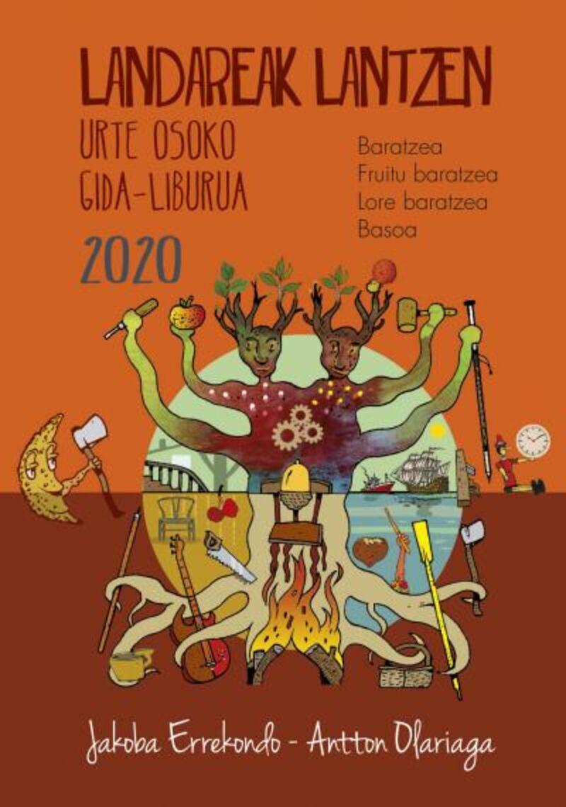 LANDAREAK LANTZEN 2020 - URTE OSOKO GIDA-LIBURUA