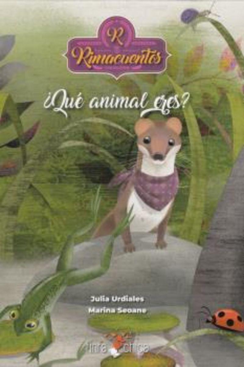 QUE ANIMAL ERES?