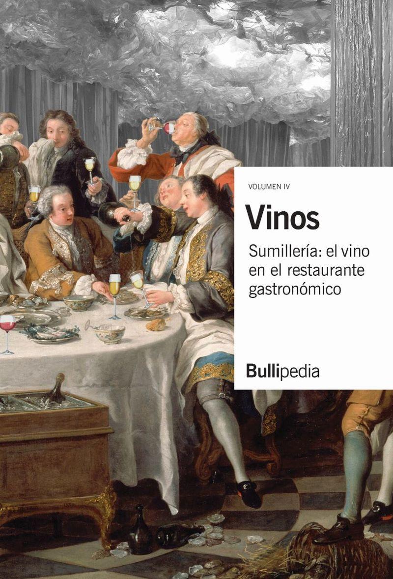 VINOS IV - SUMILLERIA: EL VINO EN EL RESTAURANTE GASTRONOMICO