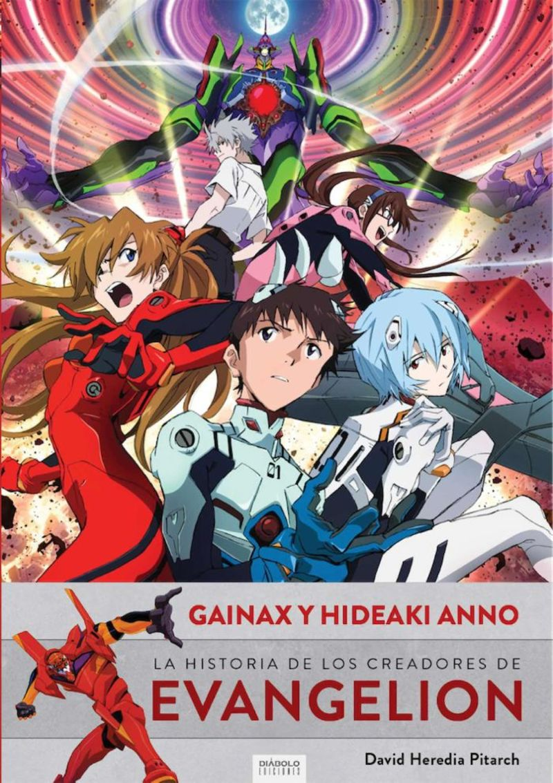 Gainax Y Hideaki Anno - David Heredia Pitarch