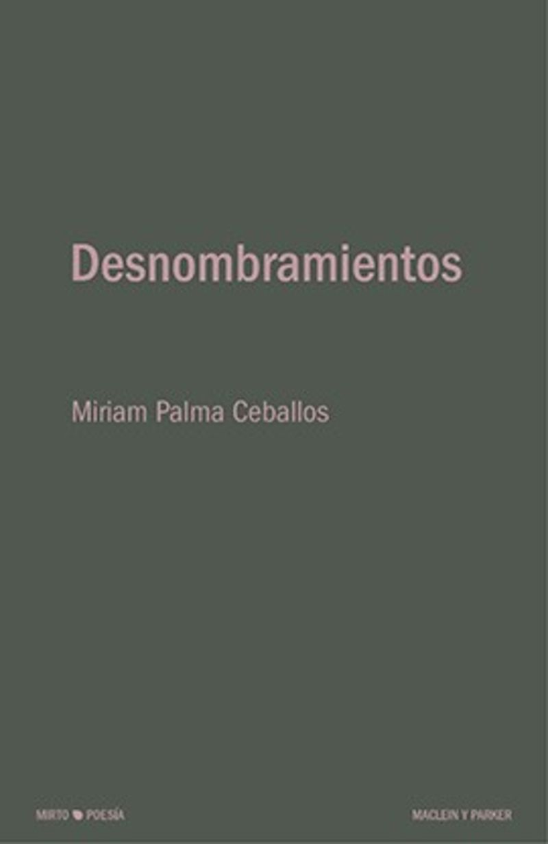 Desnombramientos - Miriam Palma Ceballos
