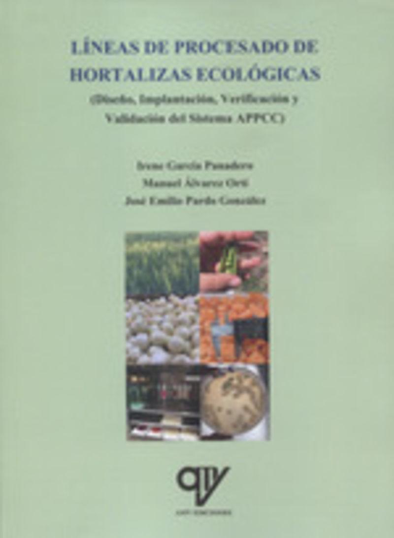 LINEAS DE PROCESADO DE HORTALIZAS ECOLOGICAS