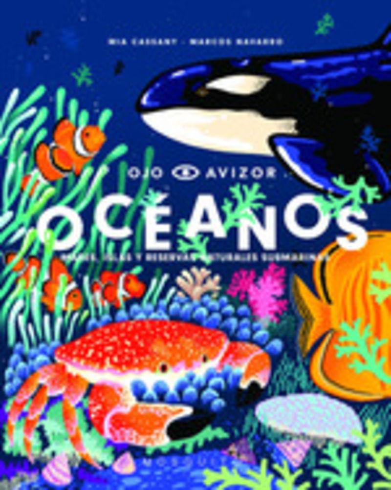 OCEANOS - MARES, ISLAS Y RESERVAS NATURALES SUBMARINAS