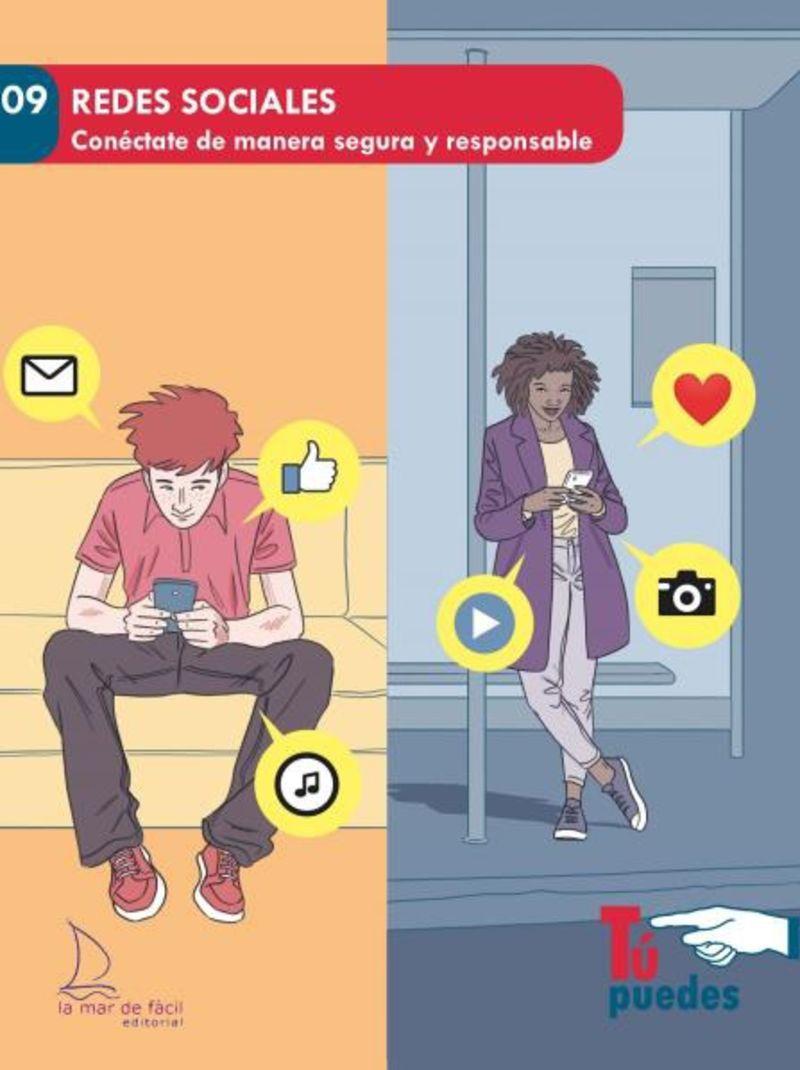 REDES SOCIALES - CONECTATE DE MANERA SEGURA Y RESPONSABLE