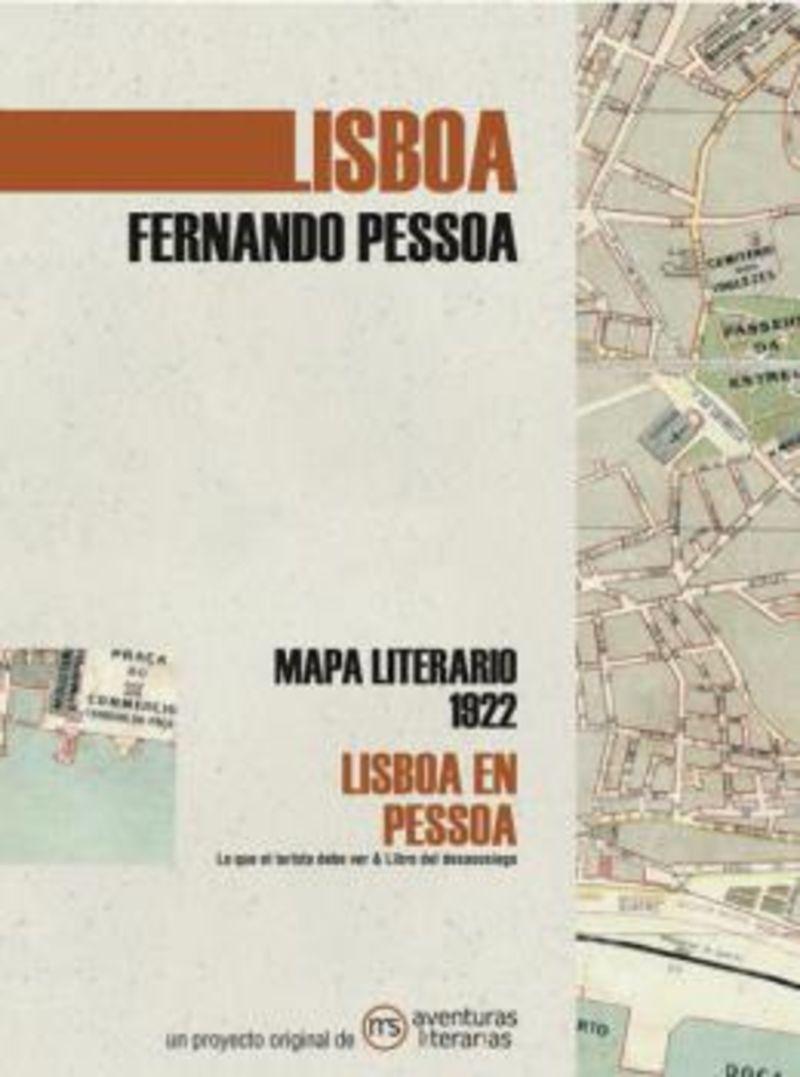 LISBOA EN PESSOA - MAPA LITERARIO 1922