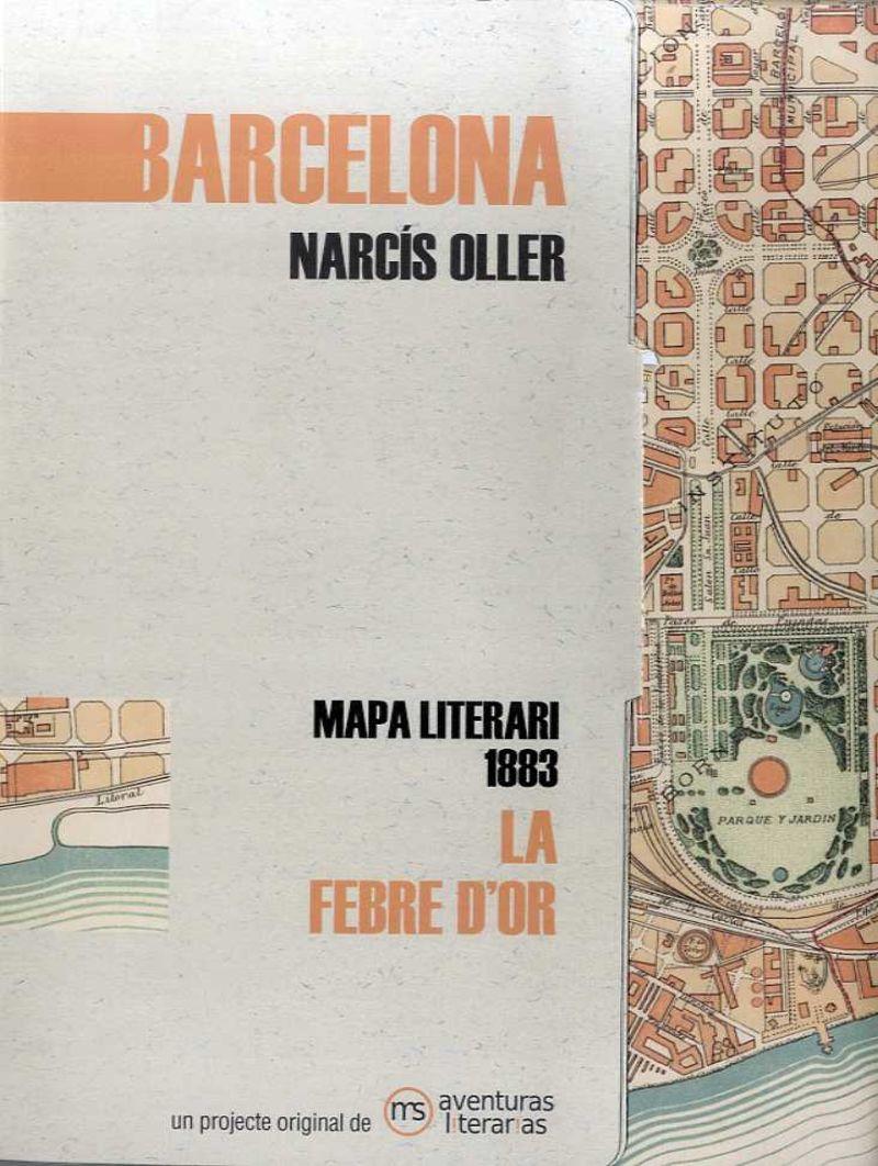 BARCELONA - LA FEBRE D'OR (CARPETA, MAPA Y LIBRETO)