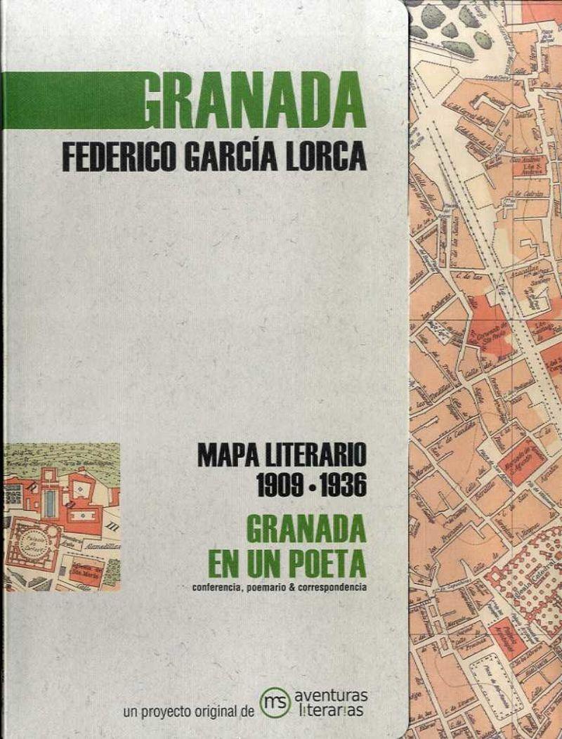GRANADA EN UN POETA - MAPA LITERARIO 1909-1936
