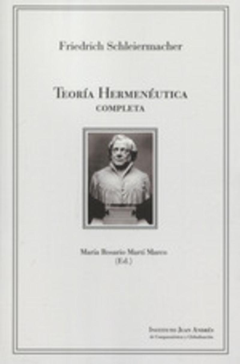 TEORIA HERMENEUTICA COMPLETA