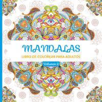 Mandalas 2 - Libros De Colorear Para Adultos - Aa. Vv.