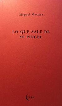 LO QUE SALE DE MI PINCEL - UNA CONVERSACION CON CLARA PASTOR