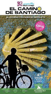 el (4 ed) camino de santiago - el camino frances en bicicleta - Valeria Horvath Mardones / Bernard Datcharry Tournois