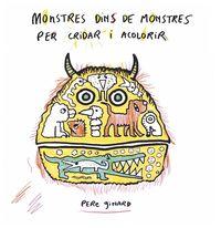 MONSTRES DINS DE MONSTRES PER CRIDAR I ACOLORIR