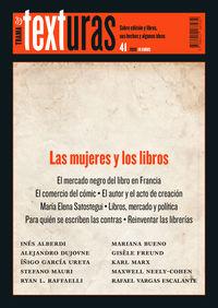TEXTURAS 41 - LAS MUJERES Y LOS LIBROS
