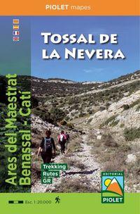 MAPA TOSSAL DE LA NEVERA - ARES DEL MAESTRAT - BENASSAL - CATI 1: 20000