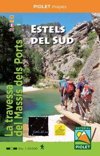 (5 ED) ESTELS DEL SUD - LA TRAVESSA DEL MASSIS DELS PORTRES 1: 25000