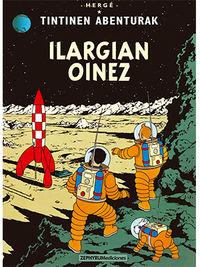 Ilargian Oinez - Tintinen Abenturak - Herge