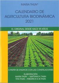 CALENDARIO 2021 - AGRICULTURA BIODINAMICA