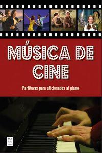 MUSICA DE CINE - PARTITURAS PARA AFICIONADOS AL PIANO CON ACORDES