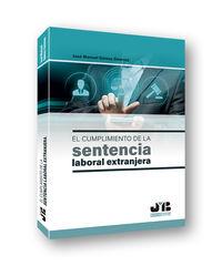 CUMPLIMIENTO DE LA SENTENCIA LABORAL EXTRANJERA, EL