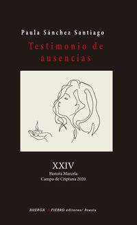 TESTIMONIO DE AUSENCIAS
