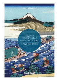 36 VISTAS DEL MONTE FUJI POR HOKUSAI Y HIROSHIGE (ED. LIMITADA)