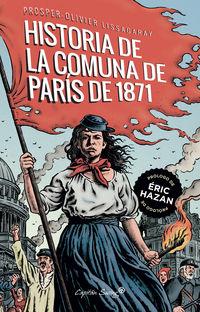 la historia de la comuna de paris de 1871 - Prosper- Olivier Lissagaray