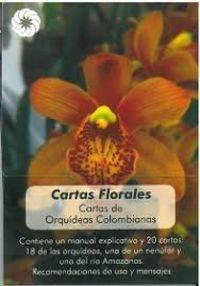 CARTAS FLORALES - CARTAS DE ORQUIDEAS COLOMBIANAS