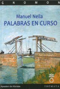 palabras en curso - Manuel Neila