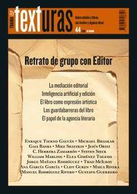 TEXTURAS 44 - RETRATO DE GRUPO CON EDITOR
