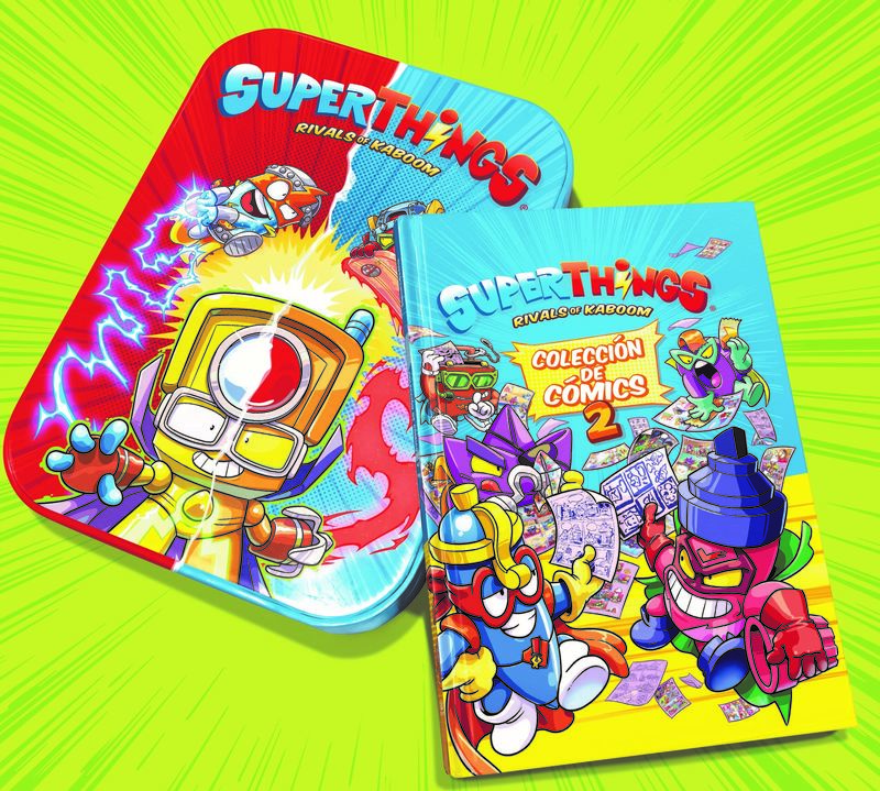 SUPERTHINGS - LIBRO DEL COLECCIONISTA DE COMICS SUPERTHINGS - SERIES 4, 5 Y SECRET SPIES
