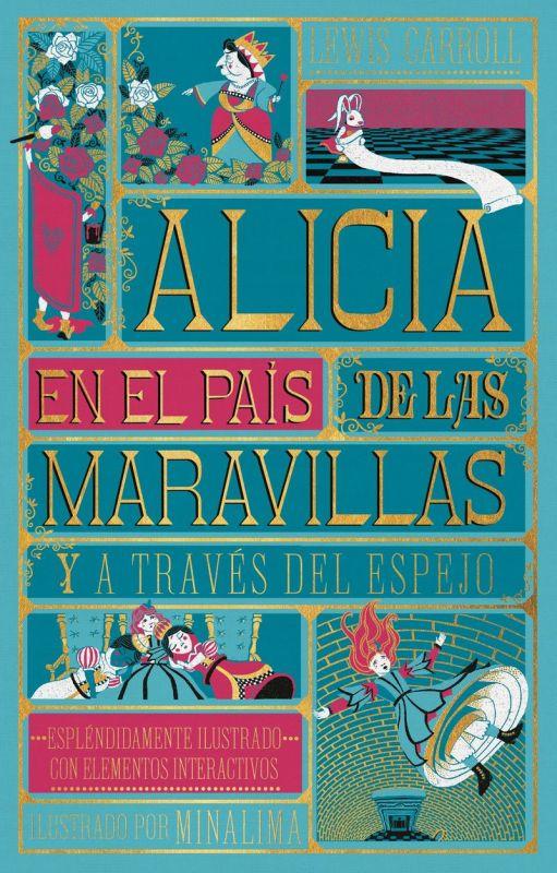ALICIA EN EL PAIS DE LAS MARAVILLAS - Y ALICIA A TRAVES DEL ESPEJO