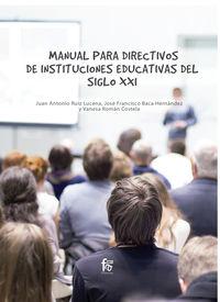 MANUAL PARA DIRECTIVOS DE INSTITUCIONES EDUCATIVAS