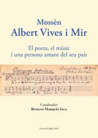 Mossen Albert Vives I Mir - Benigne Marques Sala